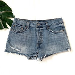 Levi's 501 jean shorts, size 29